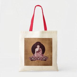 Vintage del Grunge de Shakyamuni Buda Bolsas