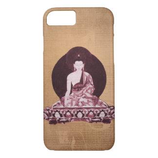 Vintage del Grunge de Shakyamuni Buda Funda iPhone 7