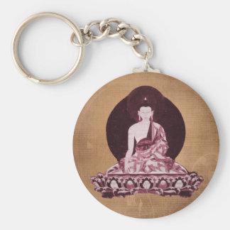 Vintage del Grunge de Shakyamuni Buda Llavero Personalizado