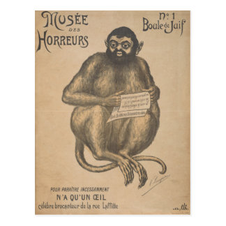Vintage del hombre del roedor del DES Horreurs de Postal