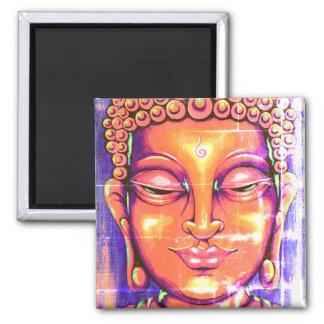 Vintage del imán de Buda