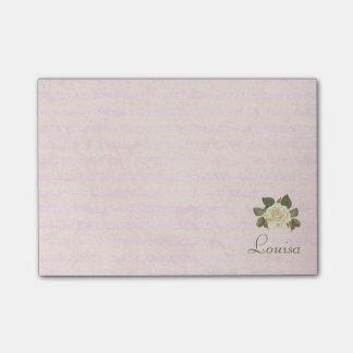 Vintage delicado floral, notas post-it®