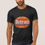 Vintage Detroit (diseño apenado) Camisetas