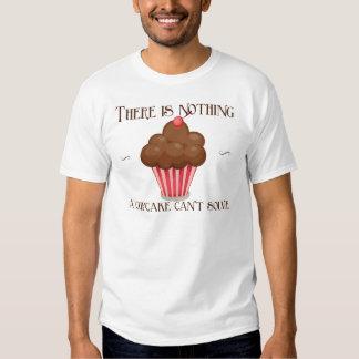 Vintage, diseño retro del delantal del amante de camiseta