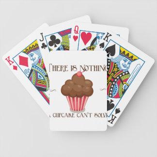 Vintage, diseño retro del delantal del amante de l baraja de cartas