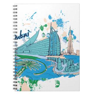 vintage Dubai nosotros diseño de e Cuaderno