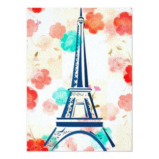 Vintage Eiffel Torre-París Anuncios Personalizados