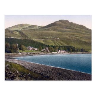 Vintage Escocia, costa costa de Teighness Postal