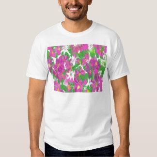 Vintage floral camiseta