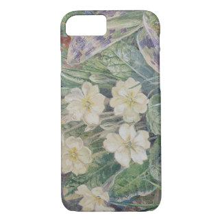 Vintage floral de la primavera y de la orquídea funda iPhone 7