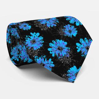 Vintage floral del acuario bilateral corbatas