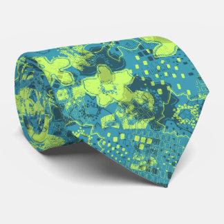Vintage floral del Daytrip bilateral Corbata Personalizada