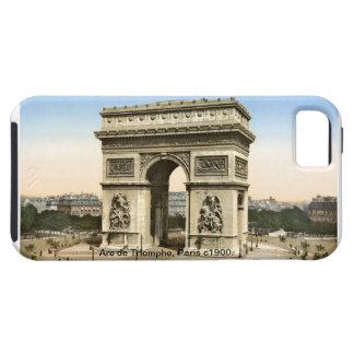 Vintage Francia Arco del Triunfo París 1900