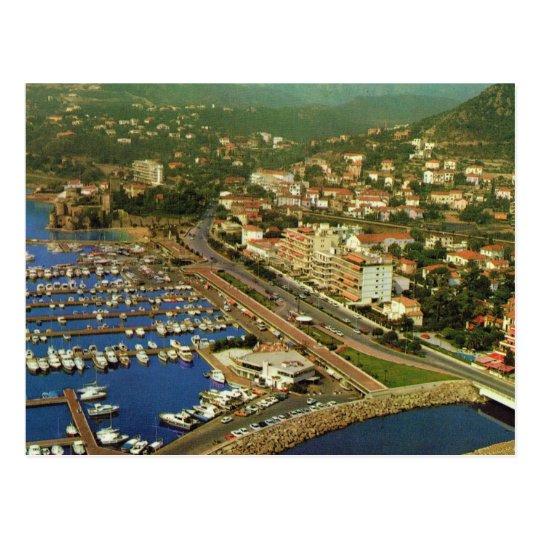 Vintage Francia, LA Napoule, Cote d'Azur Postal