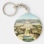 Vintage Francia, Palais de Versalles Llaveros
