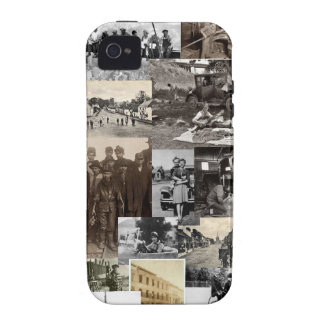 Vintage iPhone 4 Carcasa