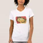 Vintage Garfield, la camisa de las mujeres