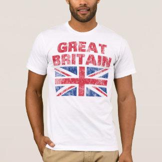 Vintage Gran Bretaña Camiseta