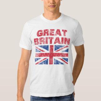 Vintage Gran Bretaña Camisetas