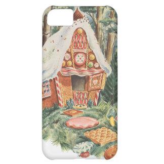 Vintage Hansel y Gretel; La casa de la bruja del c