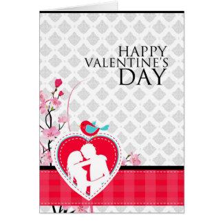 Vintage Happy Valentine s Day Felicitación