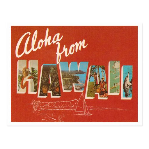 Vintage Hawaii Postal