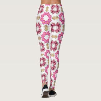 Vintage hermoso floral leggings