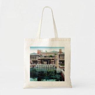 Vintage imperial de Japón del hotel de Frank Lloyd Bolsa Tela Barata