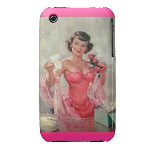 Vintage iPhone3G/3GS iPhone 3 Cárcasa