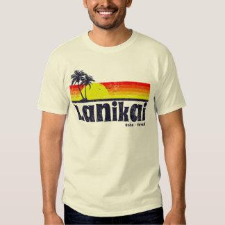 Vintage Lanikai Oahu Hawaii Camisetas