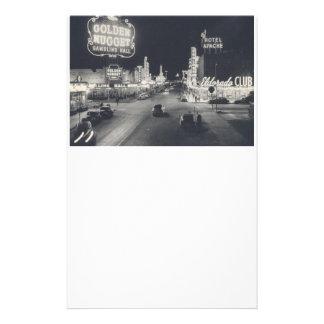 Vintage Las Vegas céntrico Papelería De Diseño