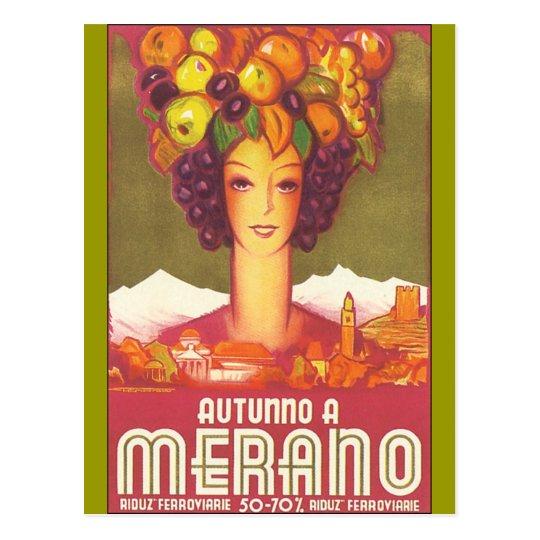 Vintage Marano, arte del poster del viaje de Postal