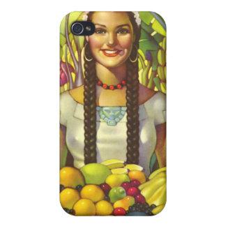Vintage México iPhone 4 Carcasas