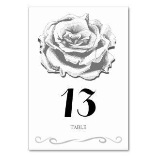 Vintage minimalista subió casando la tarjeta de la