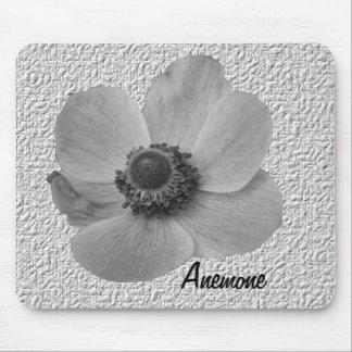 Vintage Mousepad personalizado anémona Alfombrilla De Ratón