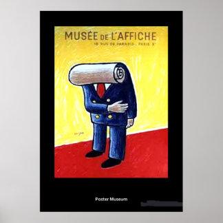 Vintage Museum de L'affiche Poster Póster