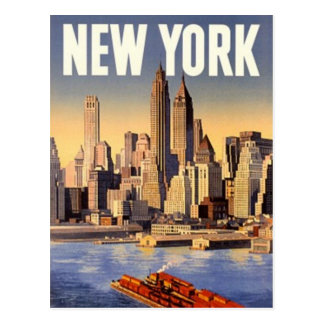 Vintage New York City, los E.E.U.U. - Postal