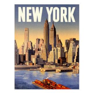 Vintage New York City, los E.E.U.U. - Postal