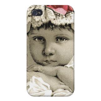 Vintage nuestro mascota 4s iPhone 4 fundas