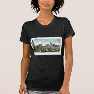 Vintage Nueva York, ayuntamiento y parque Camisetas