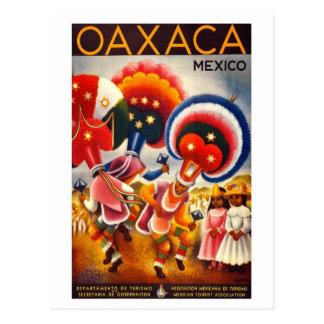 Vintage Oaxaca México Postal