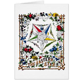 Vintage OES Signet - tarjeta en blanco