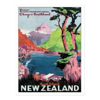 Vintage Otago Nueva Zelanda Postales