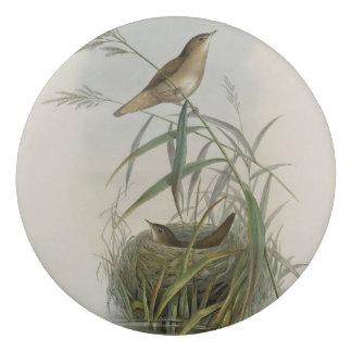 Vintage-pájaro-con jerarquía goma de borrar