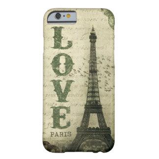 Vintage París Funda De iPhone 6 Barely There