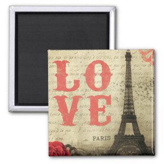 Vintage París Imanes