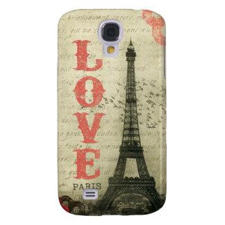 Vintage París Samsung Galaxy S4 Cover