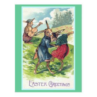 Vintage Pascua de los saludos de Pascua Postal