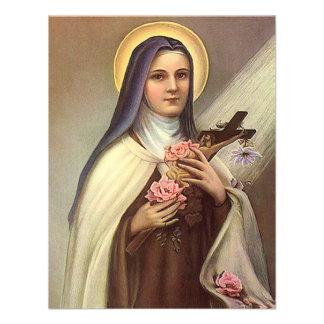 Vintage Pascua religiosa, rosas cruzados de Cristo Anuncio