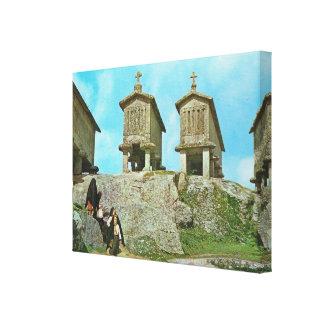 Vintage Portugal Serra del Soaja Impresiones En Lona Estiradas
